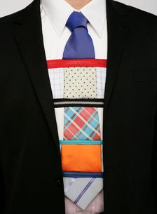 カラフルなネクタイの写真素材 [FYI01868290]