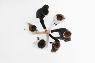 ビジネスマンとビジネスウーマンの写真素材 [FYI01875952]