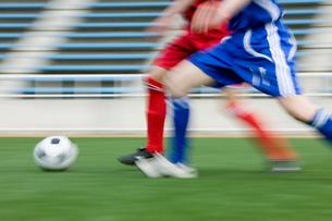 サッカー競技の写真素材 [FYI01879523]