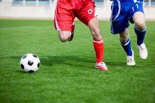サッカー競技の写真素材 [FYI01879985]