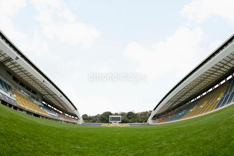 サッカー場の写真素材 [FYI01880606]