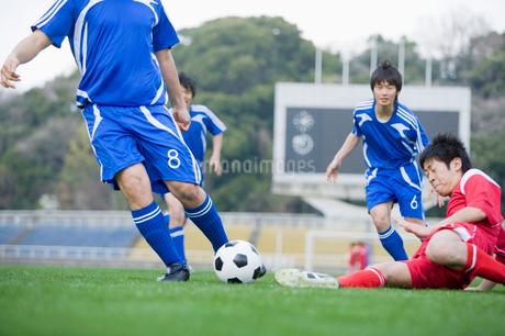 サッカー競技の写真素材 [FYI01880624]
