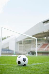 サッカーボールの写真素材 [FYI01880686]