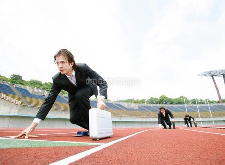 競技場とビジネスマンの写真素材 [FYI01890868]