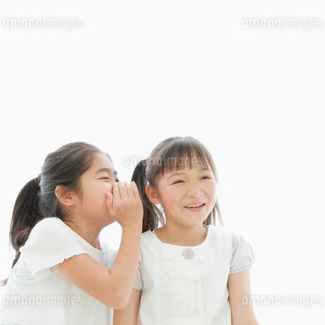 ないしょ話をする女の子達の写真素材 [FYI01891530]