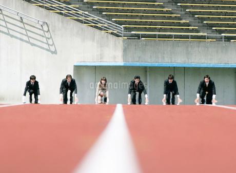 競技場のビジネスマンの写真素材 [FYI01891730]