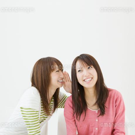 内緒話をする女性達の写真素材 [FYI01894239]