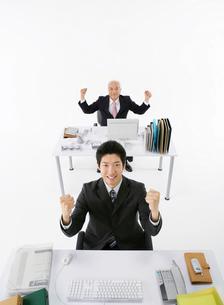 二人の日本人ビジネスマンの写真素材 [FYI01898415]
