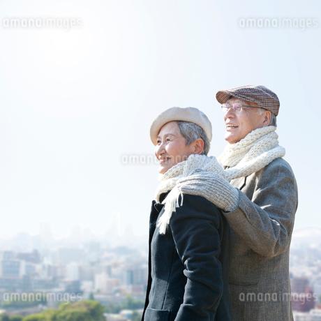 日本人のシニア夫妻の写真素材 [FYI01903732]