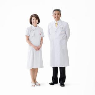 医者と看護師の写真素材 [FYI01909980]
