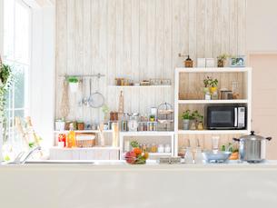 キッチンのインテリアの写真素材 [FYI01911849]