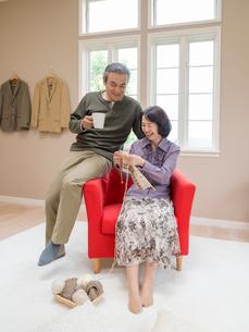 日本人のシニア夫婦の写真素材 [FYI01912059]
