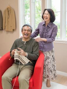 日本人のシニア夫婦の写真素材 [FYI01912540]