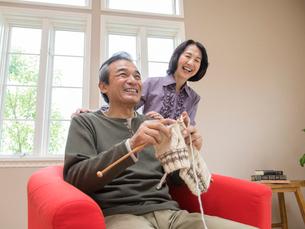 日本人のシニア夫婦の写真素材 [FYI01912749]