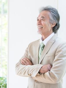 日本人のビジネスマンの写真素材 [FYI01917842]
