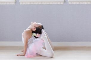 バレリーナの女の子の写真素材 [FYI01918727]