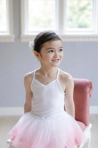 バレリーナの女の子の写真素材 [FYI01919932]