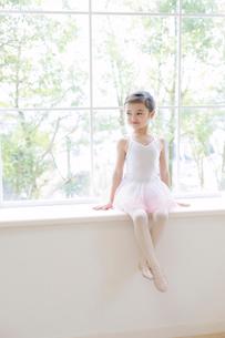 バレリーナの女の子の写真素材 [FYI01920181]