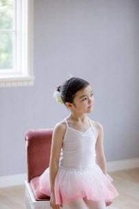 バレリーナの女の子の写真素材 [FYI01920236]
