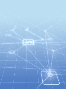 ネットワークイメージの写真素材 [FYI01922779]