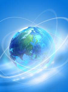 地球のイメージ(グローバル) CGの写真素材 [FYI01922818]