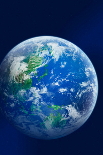 地球・CGイメージの写真素材 [FYI01923061]