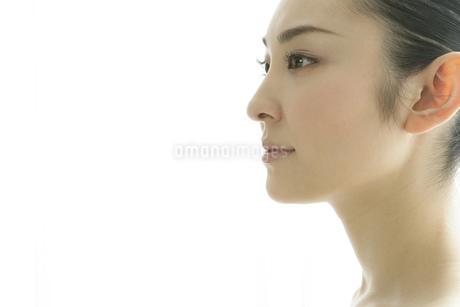 若い女性のビューティーイメージの写真素材 [FYI01923131]
