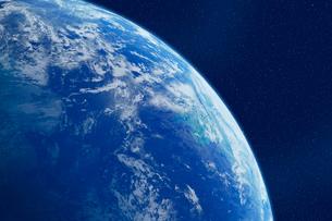 地球・CGイメージの写真素材 [FYI01923165]