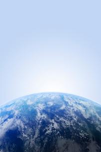 地球・CGイメージの写真素材 [FYI01923510]