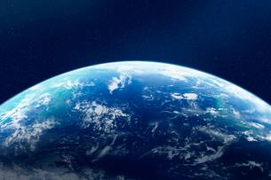 地球・CGイメージの写真素材 [FYI01923516]