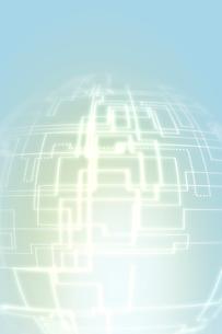 バックグラウンド・ITイメージ・CGイメージの写真素材 [FYI01924793]