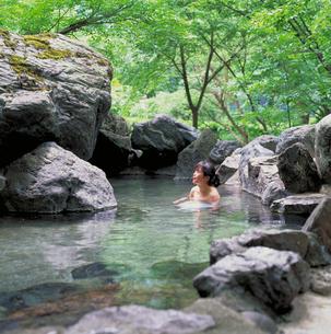 姫川温泉 ホテル国富 長野県の写真素材 [FYI01925342]