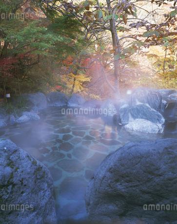 湯西川温泉 栃木県の写真素材 [FYI01925519]