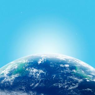 地球と光の写真素材 [FYI01925565]