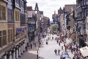 チェスターの街並み イギリスの写真素材 [FYI01925757]