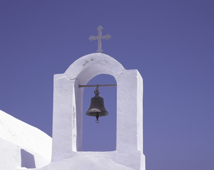 教会 サントリーニ島の写真素材 [FYI01926228]