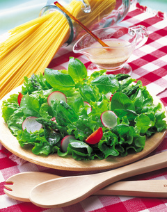 グリーンサラダの写真素材 [FYI01926240]