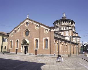 サンタマリアデッレグラッツィエ教会の写真素材 [FYI01926326]