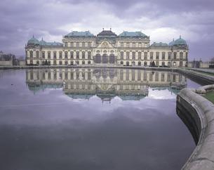 ベルヴェデーレ宮殿 ウィーンの写真素材 [FYI01926330]