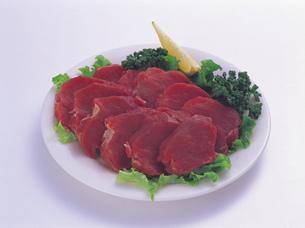 豚肉ヒレ 一口カツ用の写真素材 [FYI01926504]