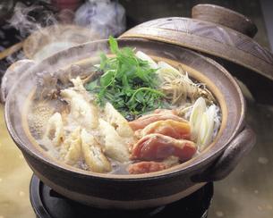 きりたんぽ鍋の写真素材 [FYI01926543]