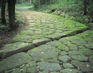 旧中仙道の写真素材 [FYI01926557]