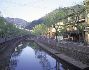 城崎温泉の街並みの写真素材 [FYI01926672]