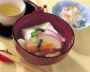関東風の雑煮の写真素材 [FYI01926864]