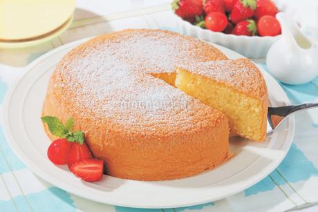 スポンジケーキの写真素材 [FYI01926983]