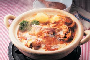 海鮮チゲ鍋の写真素材 [FYI01927237]
