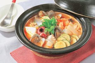 海鮮チゲ鍋の写真素材 [FYI01927403]