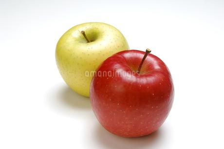 2個のリンゴの写真素材 [FYI01927595]