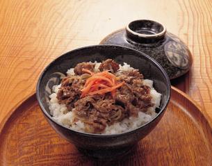 牛丼の写真素材 [FYI01927605]