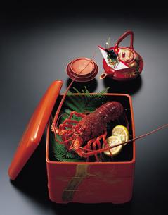 おせち料理(伊勢エビ)の写真素材 [FYI01927709]